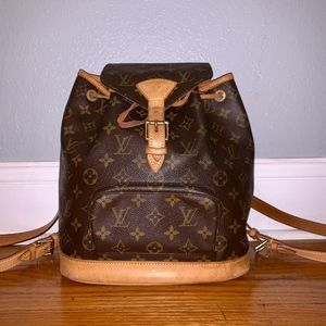 Louis Vuitton Monogram MM Montsouris Backpack
